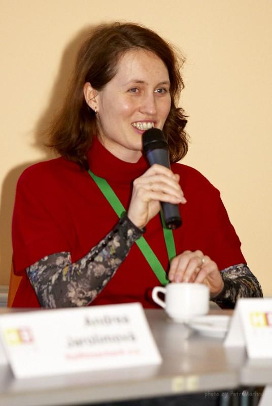 vedoucí diskuse Hana Musilová (Merck)